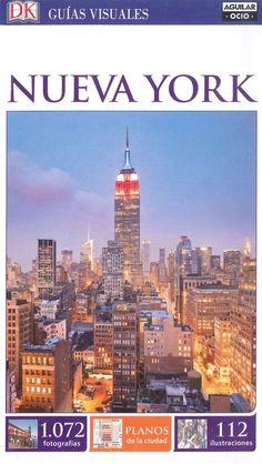 """""""Nueva York"""" Guías visuales donde encontrar numerosas fotografías, ilustraciones, mapas, planos alzado de los principales monumentos, intinerarios por zonas y paseos inusuales además de una gran selección de hoteles, restaurantes, tiendas y eventos."""