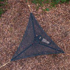Trillium Camping Hammock: Black Mesh: Tentsile Tree Tents - Hammock Town