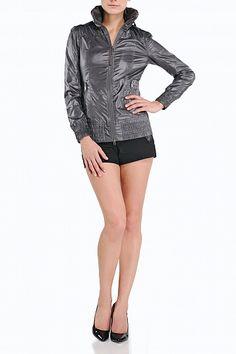 #Mackage Perla-A rain jacket in Grey