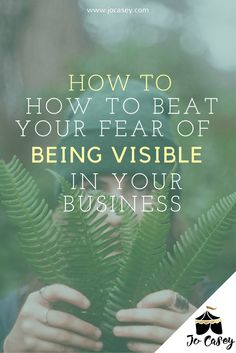 Do you have a fear of being visible in your coaching business? You're not alone. Here are our tips for breaking through that fear &