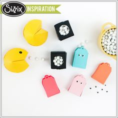 Sizzix Inspiration   Pacman Party Favors by Melissa Fallon