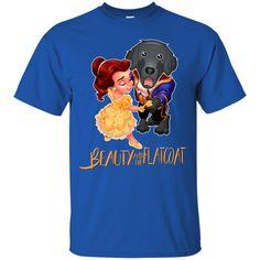 Beauty And The Beast Shirts Beauty And The Flat Coated Retriever T shirts Hoodies Sweatshirts