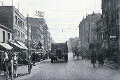 Antigua foto Avenida de la Albufera MADRID Años 50