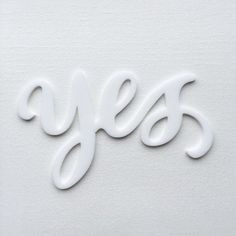 YES.............. Work by @jasminenora #typography #betype #lettering...