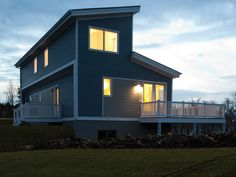 Two Blu Homes are Faculty Housing at Portsmouth Abbey