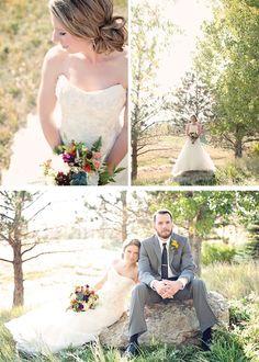Rustic, Elegant, Vintage, Colorado Wedding