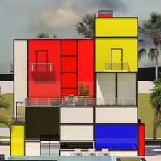 Welcome to the official Bauhaus Movement Magazine. The State Bauhaus was founded by Walter Gropius as a school of arts in Weimar in As the Bauhaus was a combination of. Piet Mondrian, Mondrian Dress, Architecture Bauhaus, Architecture Design, Architecture Student, Mondrian Art Projects, Design Bauhaus, Bauhaus Art, Bauhaus Style