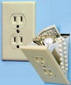 Outlet Safe...clever however now everyone knows...