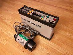 Flash Generatore 202 elinchrom ,e torcia tubo flash da 2000 W per foto perfette
