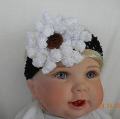 Crochet do bebê Headband por Lilibugs no Etsy