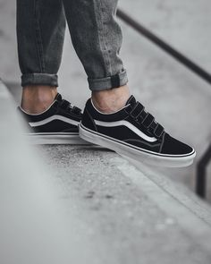 vans old school noir scratch