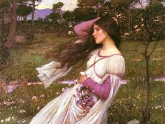 JW Waterhouse-- spring