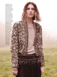 visual optimism; fashion editorials, shows, campaigns & more!: wild country: emma champtaloup by tom allen for uk harper's bazaar july 2014
