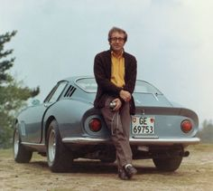 Peter Sellers and his Ferrari 275 GTB ... this guy was a real car nut ... he had loads of different vehicles.