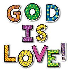 God is Love Bulletin Board Set