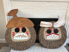 DIY Kakamora Coconut Costumes from Disney Moana