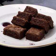 Mom baked tons of goodies, but none more frequently than her brownies.  She was the entire welcome wagon for the growing neighborhood back in the mid 1950's and would bring a plate of brownie…