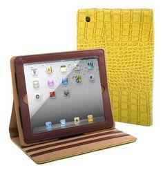 Fashion Matte Croco iPad 2 Compatible Case - Handbags, Bling & More!