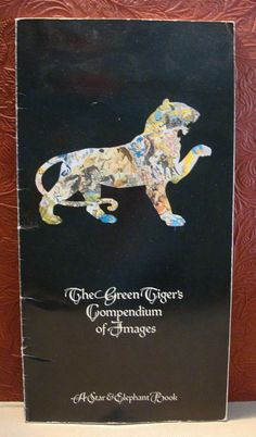The Green Tiger's Press Compendium of Images Product Catalog 1979 Paperback