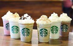 Starbucks Unveils 6 Brand-New Frappuccino Flavors - SELF