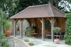 Outbuildings - Border Oak - oak framed houses, oak framed garages and structures.