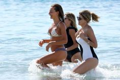 Alessia Tedeschi on Vacation with Friends in Formentera