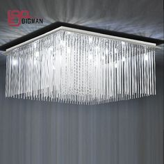 New design modern crystal chandelier light fixtures for living room square crystal lamp ,speical price