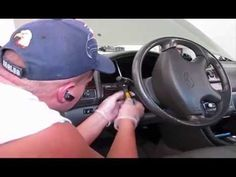 How to replace instrument cluster 2000 Infiniti I30 - YouTube