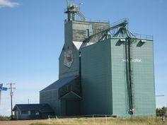 small town Alberta Canada grain elevator!!