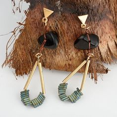Now available at Soigne 916, LLC Wild & Free Natur... get yours today!  http://www.soigne916.com/products/wild-free-natural-stone-earrings?utm_campaign=social_autopilot&utm_source=pin&utm_medium=pin