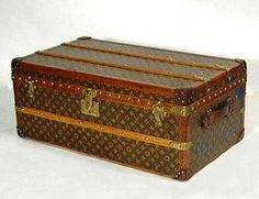 I die for vintage Louis Vuitton luggage and trunks.