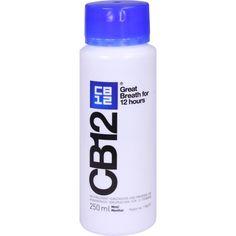 CB12 Mund Spüllösung gegen Mundgeruch: Mit CB12 verschaffen Sie sich einen sicheren Atem. Durch Gurgeln mit den Wirkstoffen Chlorhexidin…