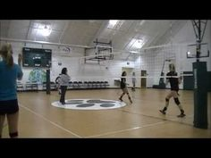 Volleyball Practicing Drills