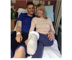 The inspirational story of the dance teacher injured during the Boston Marathon bombing.