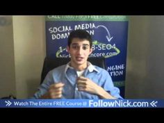 www.FollowNick.com 7. Be specific to your industry - Facebook Marketing About Facebook, Free Courses, Facebook Marketing, Social Media, Youtube, Social Networks, Social Media Tips, Youtube Movies
