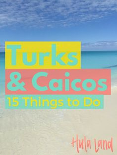 15 Things to Do on Provo in the Turks and Caicos including the best snorkeling spots, paddleboarding tours and horseback riding on the beach!