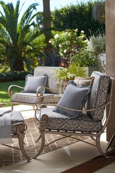 The most influential and successful chair of all time is the Greek klismos. Dating back to 6th century BC, this chair has stood the test of time. Athens – our 21st century interpretation – will do no less. | Frontgate
