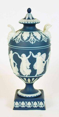 wedgwood jasperware urn | Wedgwood Jasperware dancing… - Antiques & Decorative Arts ...