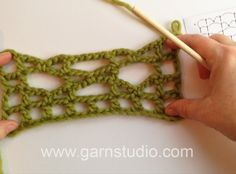 DROPS Crochet Tutorial: How to crochet the pattern for DROPS 154-11