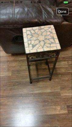 Mosaic plant stand - VarageSale Sarnia