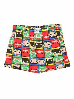 DC Comics Funko Heroes Boxers   Hot Topic Girl Boxers, Comic Clothes, Nerd Outfits, Dc Comics Characters, Geek Fashion, Comic Character, Hot Topic, Outdoor Blanket, Geek Stuff