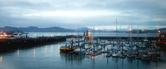 "Fog Harbor Fish House offers spectacular views of San Francisco Bay and the Golden Gate Bridge while dining on the freshest seafood and meats available. Created by the family who developed PIER 39... amazing ""World's Best"" Clam Chowder & Mixed Grill with Jill 3/17/2012  http://www.urbanspoon.com/r/6/107392/restaurant/Fishermans-Wharf/Fog-Harbor-Fish-House-San-Francisco  http://www.yelp.com/biz/fog-harbor-fis"