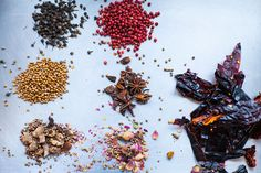 Shop owner crafts spice blends from more than 120 ingredients. How does he keep them all straight?