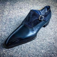 Men's Classic Monk Strap Dress Shoes Hot Shoes, Men S Shoes, Blue Shoes, Gentleman Shoes, Style Masculin, Mens Fashion Shoes, Dream Shoes, Formal Shoes, Luxury Shoes