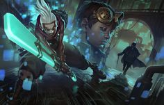 ArtStation - Chronobreak - League of Legends, Jason Chan