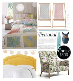 """""""Untitled #62"""" by yyvonne881038 on Polyvore featuring interior, interiors, interior design, home, home decor, interior decorating, Bloomingville, bedroom and bedroomunder500"""