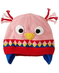 d6a4b0f1245 Soft combed cotton yarns are knit into an adorably comfy hat with supercozy  fleece lining for