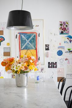 Kitchen styled by Megan Morton