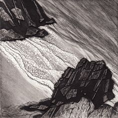 Anita Reynolds is a painter and Printmaker based in Devon. She is a member of the Devon Guild of Craftsmen, exhibits widely and runs courses and workshops. Collagraph, Devon, Outline, Printmaking, Georgia, Collage, Artists, Island, Black And White