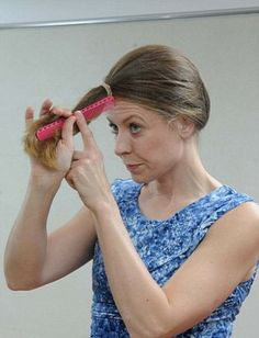 Celeb Hairdresser's Tip for a DIY Haircut, I just did this it actually works!!!